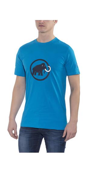 Mammut Logo t-shirt Heren blauw